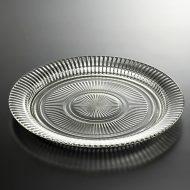 g3108-90-1 φ31.0骨董剣先カットガラス皿