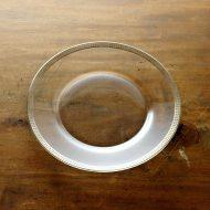 g3130-90-1 φ19.5縁シルバーラインケーキガラス皿