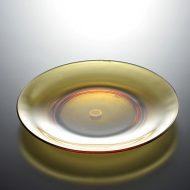 g3137-30-1 φ18.8VERECO 茶ガラス皿
