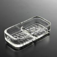 g3143-15-1 11.0x5.5x2.1ガラス薬味入れそこデコボコ