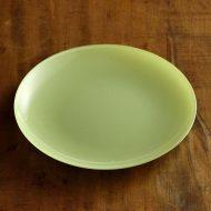 g3190-15-1 φ20.0ガラス皿 黄緑 水色