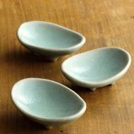 w1070青楕円小皿