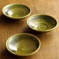 w1085織部豆皿
