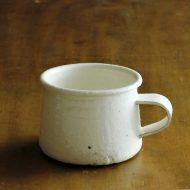 y6050-50-2 18.5x10.5x10.0粉引きマグカップ