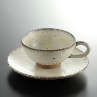 y6053-80-2 φ15.0x6.2白釉ティーカップ
