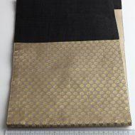 b1027-200-1 98×24金彩黒麻ランナー