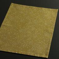 b1031-30-1 44.5×32.5からし色丸紋ランチョン