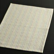 b1043-25-1 44.0×32.5白色彩さしこランチョン
