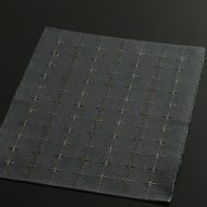 b1044-30-1 40.0×31.0藍色格子織ランチョン