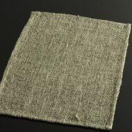 b1049-30-1 43.7×30.7グレー系荒織ランチョン