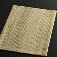 b1050-35-1 43.0×30.8ベージュ/薄緑ストライプ織ランチョン