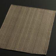 b1051-30-1 43.5×32.5茶/薄茶市松織ランチョン