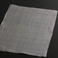 b1062-40-1 44.5×33.5幡 グレー紫麻ランチョン