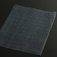 b1066-35-1 42.0×31.0藍染荒織麻ランチョン