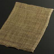 b1067-30-1 46.5×39.0茶系荒織麻ランチョン