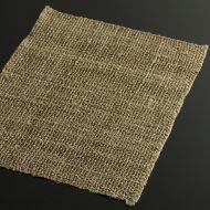 b1072-25-1 42.5×33.5茶系荒織麻ランチョン