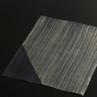 b1077-30-1 43.5×35.0紫/白系よこしま麻ランチョン