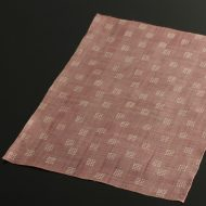 b1081-45-1 44.0×31.2Madu ピンク角紋麻ランチョン