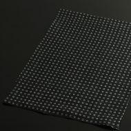 b1082-55-1 44.5×32.0遊 藍色角紋麻ランチョン