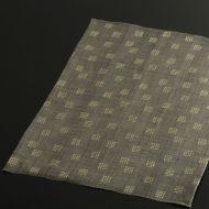 b1084-45-1 44.5×31.7Madu グレー角紋麻ランチョン