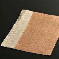 b1097-50-1 37.0×30.0オレンジ/白麻ランチョン