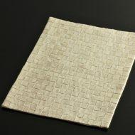 b1104-120-1 33.7×24.3白市松織ランチョン