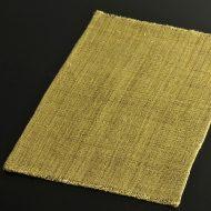 b1105-40-1 40.0×26.0幡 からし荒織麻ランチョン