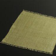 b1113-50-1 41.5×37.0草色房付き麻ランチョン