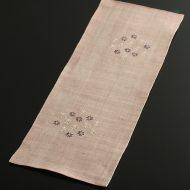 b1131-50-1 54.0×19.8ピンク花刺子麻ランナー