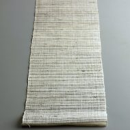 b1176-30-1 92.0×16.0茶/生成り編み麻ランナー