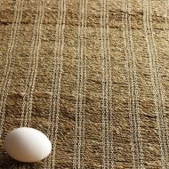 b2034-30-1 39×145茶麻糸編みランナー