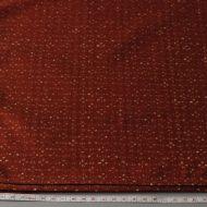 b2102-45-1 110×104柿茶に白小柄クロス