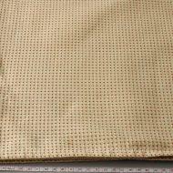 b2106-100-1 150×150淡オレンジに茶刺子風厚手クロス