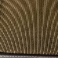 b2111-45-1 110×100濃い茶に縦縞入りクロス