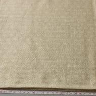 b2128-45-1 102×98ベージュに白麻の葉柄クロス