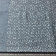 b2134-45-1 82×90淡藍染め梅柄クロス