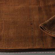 b2139-80-1 188×41茶に黒縞織り入りクロス