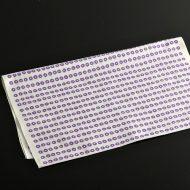 b3031-25-1 88.5x34.5白地に紫丸柄手ぬぐい