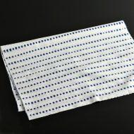 b3032-30-1 98.5x35.0白地に青豆しぼり手ぬぐい