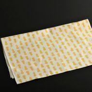 b3039-30-1 88.5x35.0生なりに黄の瓢箪柄手ぬぐい