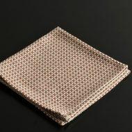 b3051-20-1 36.0x35.0柿色灰色クロス織り和ナフキン