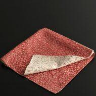 b3060-30-1 48.0x47.0赤ベージュ地に紅葉柄和ナフキン