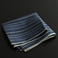 b3089-25-1 76.5x36.0藍縞模様布