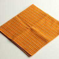 b3101-20-1 51x51オレンジ角刺子ふきん