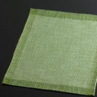 b5014-20-1 39.5×30.0濃緑きょうのランチョン(縁どりあり)