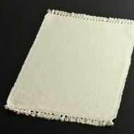 b5079-20-1 52.5×34.0生なりグレーチェック房つきランチョン