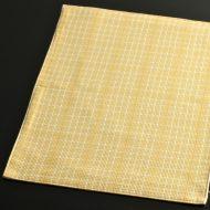 b5093-25-1 42.0×30.5黄濃淡チェックランチョン