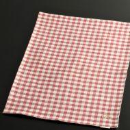 b5105-45-1 45.0×32.0赤白両面ランチョン(チェックとストライプ)