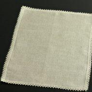 b5139-30-1 33.5×24.5グレー縁レースティーマット