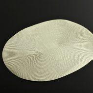 b5168-20-2 43.5×35.5楕円白編みランチョン